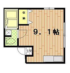 神奈川県横浜市神奈川区七島町の賃貸マンションの間取り