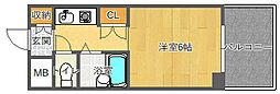 EASYBOX千里山東[403号室]の間取り