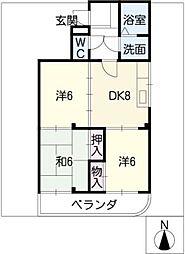 シンアイビル[2階]の間取り