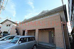 福岡県古賀市日吉1丁目の賃貸アパートの外観