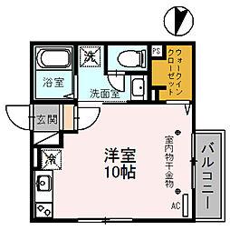 copain・court[2階]の間取り