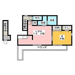 メゾン ラクレ[2階]の間取り