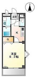 パーソナル飯田12[1階]の間取り