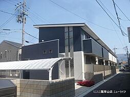 大阪府東大阪市花園本町1丁目の賃貸アパートの外観