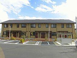 富山県中新川郡立山町利田の賃貸アパートの外観