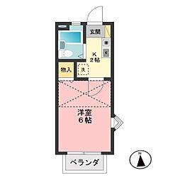 プレミールハウス[1階]の間取り