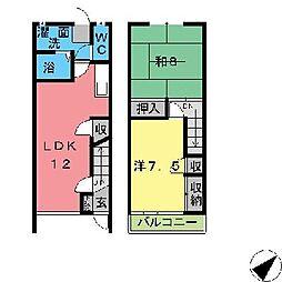 [テラスハウス] 愛知県碧南市日進町3丁目 の賃貸【/】の間取り