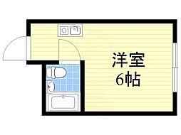 文の里駅 2.1万円