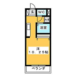 メドウ笠原[1階]の間取り