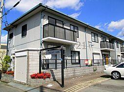 兵庫県宝塚市南ひばりガ丘2丁目の賃貸アパートの外観