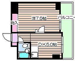 メゾンドリュウ澄[1階]の間取り