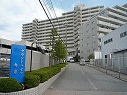 栃木県宇都宮市今泉町の賃貸マンションの外観