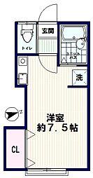 AZUMI-SOU(アズミソウ)[104号室]の間取り