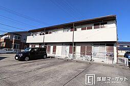 愛知県岡崎市東蔵前1丁目の賃貸アパートの外観