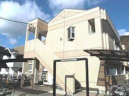 岡山県岡山市北区津島福居1丁目の賃貸アパートの外観