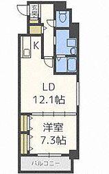 北海道札幌市東区北十五条東5の賃貸マンションの間取り