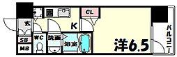 プレサンス神戸元町[7階]の間取り