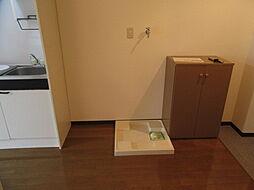 ドムスOgawaの室内洗濯機置場