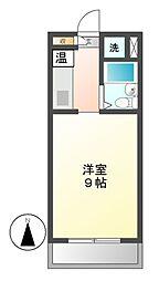 ハイライフイワタ[2階]の間取り