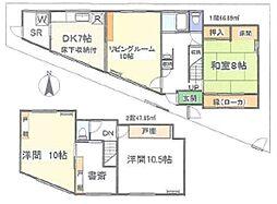 [一戸建] 東京都杉並区阿佐谷南2丁目 の賃貸【/】の間取り