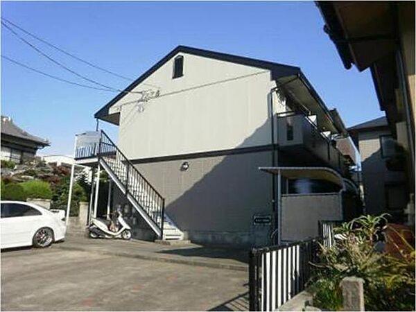 愛知県北名古屋市弥勒寺東2丁目の賃貸アパートの外観