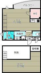 ヴィラ豊郷[4階]の間取り
