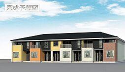 千葉県袖ケ浦市奈良輪の賃貸アパートの外観