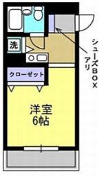 埼玉県草加市草加5の賃貸マンションの間取り