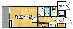 リーガル京都河原町III[305号室号室]の間取り