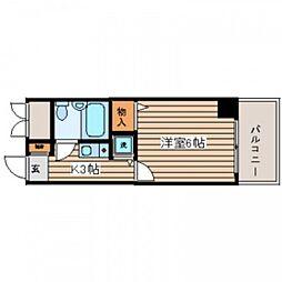 トーカンキャステール己斐本町[5階]の間取り