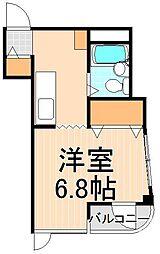 東京都足立区本木南町の賃貸マンションの間取り