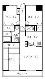エメラルドマンション新宮 3F