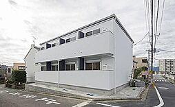神奈川県座間市明王の賃貸アパートの外観