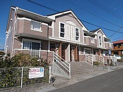 和歌山県橋本市しらさぎ台の賃貸マンションの外観