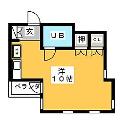 Breeze 315[2階]の間取り