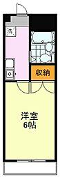 第2ピュアマンション[308号室]の間取り