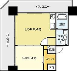 No.71 オリエントトラストタワー[2801号室]の間取り