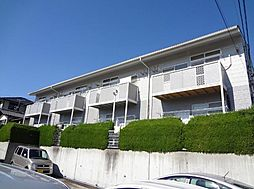 愛知県長久手市久保山の賃貸アパートの外観