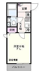クレドメゾン鎌倉[2階]の間取り