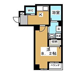 ヴィータ京都西院[2階]の間取り