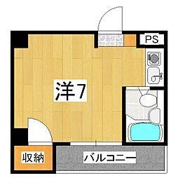 第8長栄ヴィライースト[2階]の間取り
