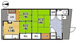 [一戸建] 京都府京都市伏見区南新地 の賃貸【/】の間取り