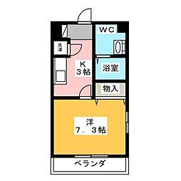 S−FORT藤が丘[3階]の間取り