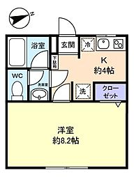 フォレストハウス八千代[2階]の間取り