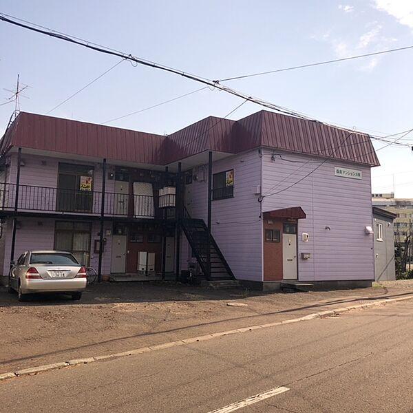 北海道札幌市清田区北野一条2丁目の賃貸アパートの外観