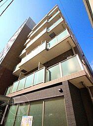東京都品川区旗の台5丁目の賃貸マンションの外観