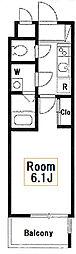 新築 アートヴィラージュ亀戸[7階]の間取り
