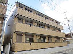 兵庫県神戸市兵庫区中道通9の賃貸アパートの外観