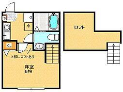 N-Flat[203号室]の間取り