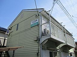 東京都立川市錦町2丁目の賃貸アパートの外観